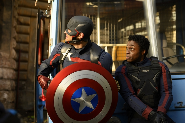 the falcon and winter soldier - whole world is watching -walker and hoskins