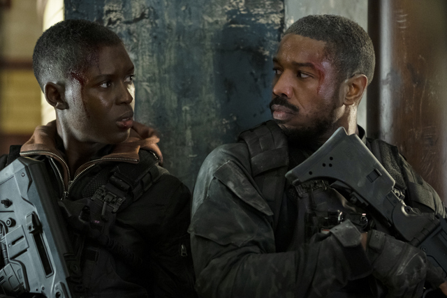 tom clancy's without remorse review - jodi turner-smith and michael b. jordan
