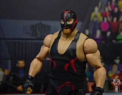 wwe legends 10 big van vader figure review -mask left side