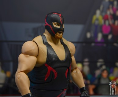 wwe legends 10 big van vader figure review - mask right side