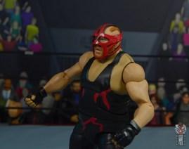 wwe legends 10 big van vader figure review - red mask left side