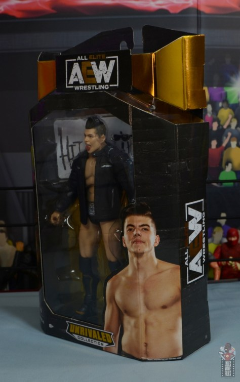 aew unrivaled series 4 sammy guevara review - package left side