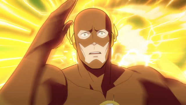 justice society of america world war ii review - flash running