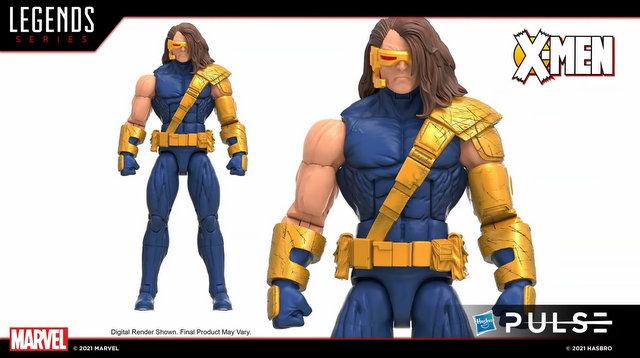 marvel legends age of apocalypse wave 2 - cyclops