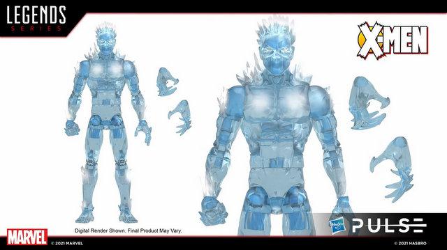 marvel legends age of apocalypse wave 2 - iceman