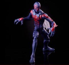 marvel legends spider-man 2099 - turning