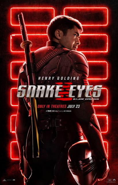 snake eyes gi joe origins - poster