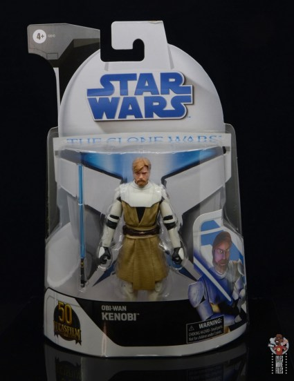 star wars the black series clone wars obi-wan kenobi review - package front