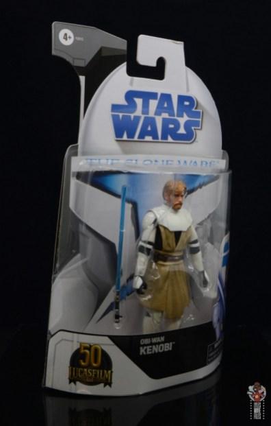 star wars the black series clone wars obi-wan kenobi review - package left side