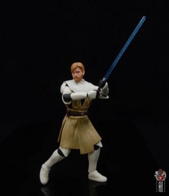 star wars the black series clone wars obi-wan kenobi review - ready for a fight