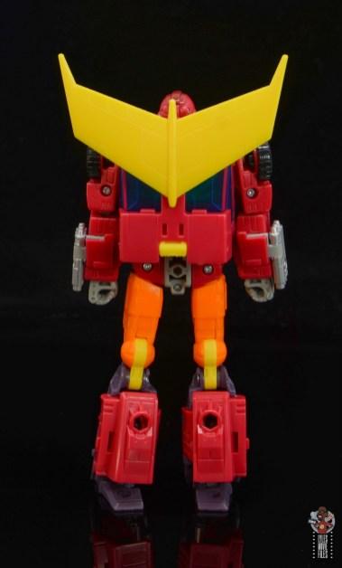 transformers studio series 86 hot rod review - rear