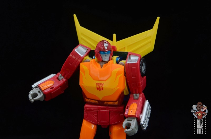 transformers studio series 86 hot rod review - sunglasses on