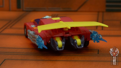 transformers studio series 86 hot rod review - vehicle rear