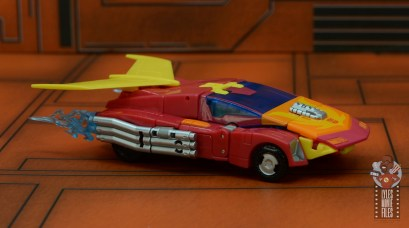 transformers studio series 86 hot rod review - vehicle right side