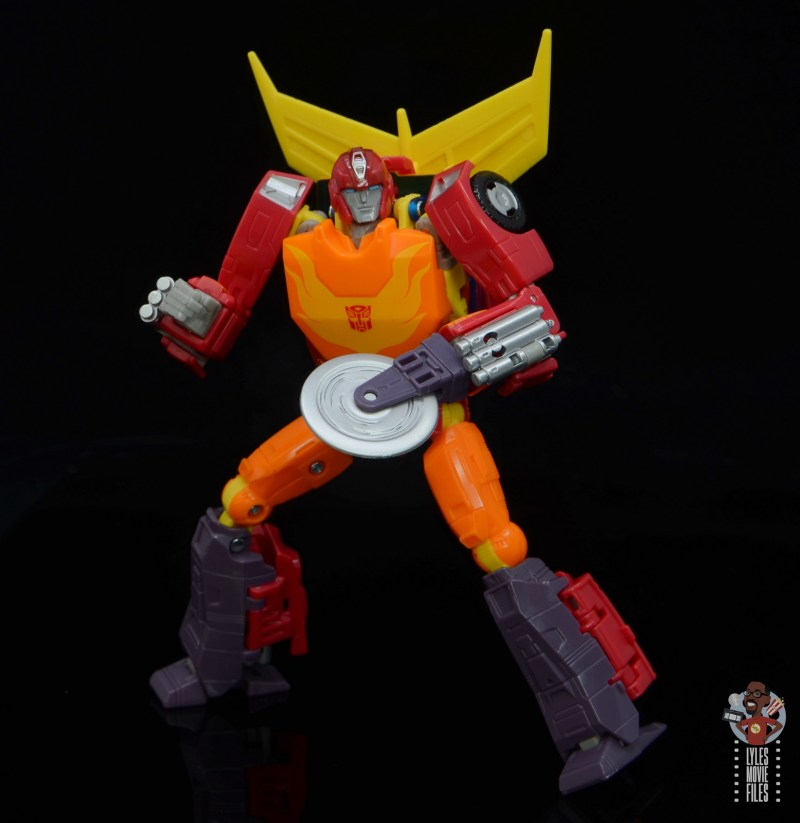 transformers studio series 86 hot rod review - with buzzsaw attachment
