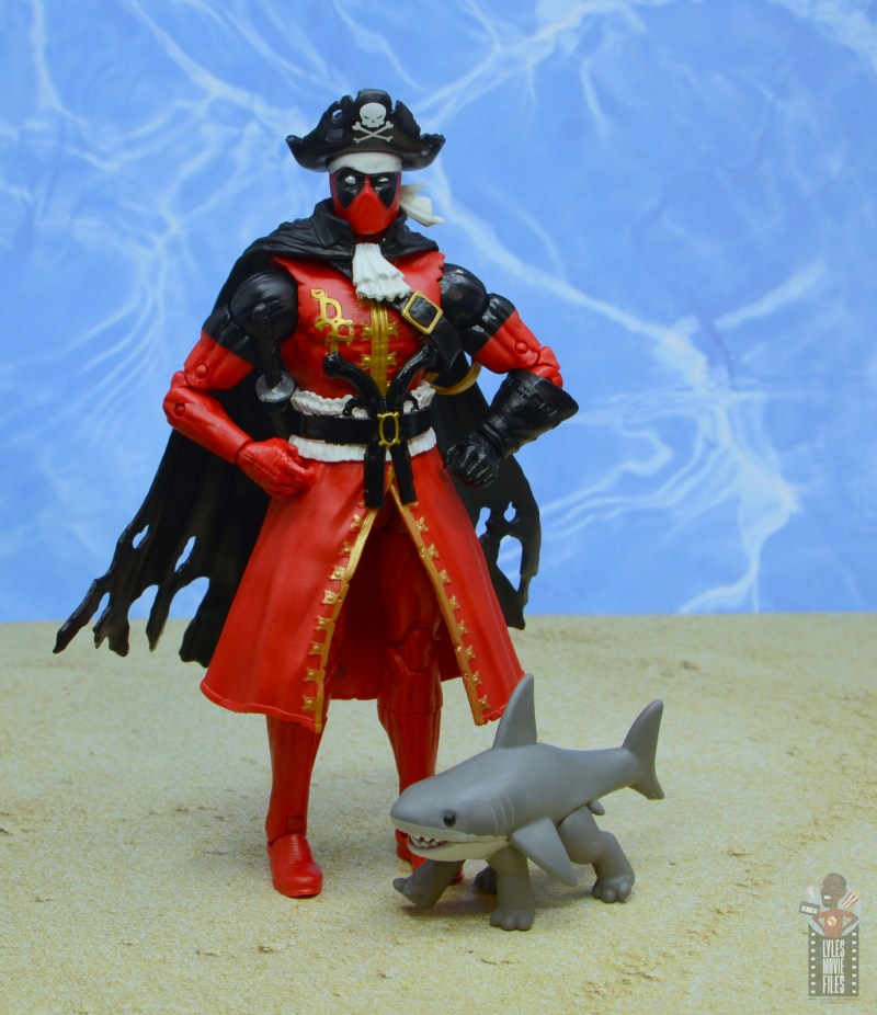 marvel legends pirate deadpool review -with jeff the shark