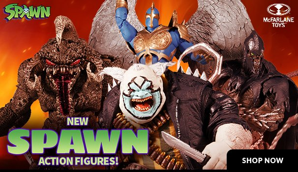 mcfarlane toys spawn figures
