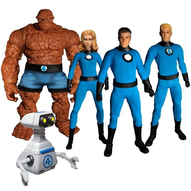 mezco toys fantastic four figure set