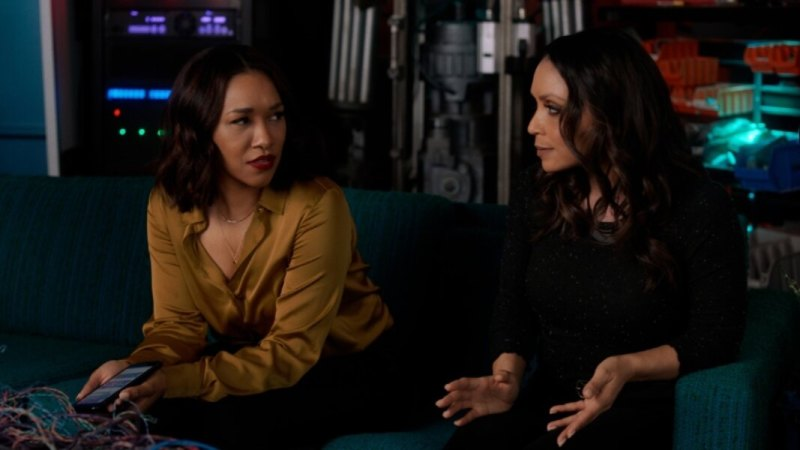 the flash - masquerade review - iris and cecile