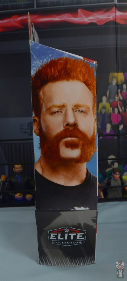 wwe elite 84 sheamus review - package left side