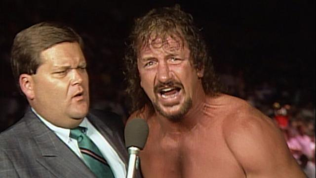 jim ross with terry funk