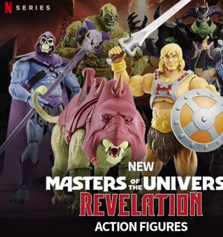 masters of the universe revelations figures