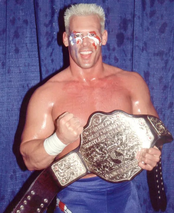 sting with nwa title
