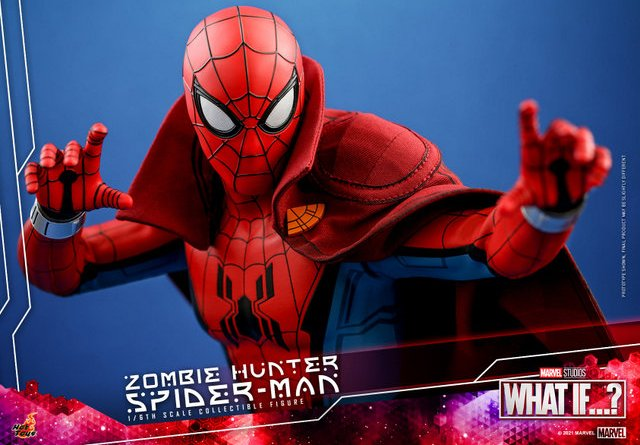 hot toys zombie hunter spider-man figure -main pic