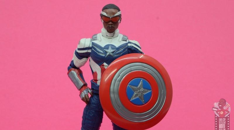 marvel legends disney+ captain america review -main pic