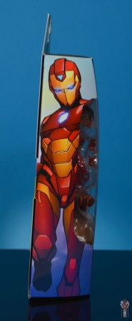marvel legends ironheart review - package side