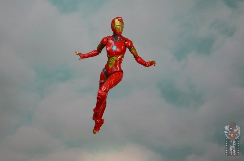 marvel legends ironheart review - soaring through the skies