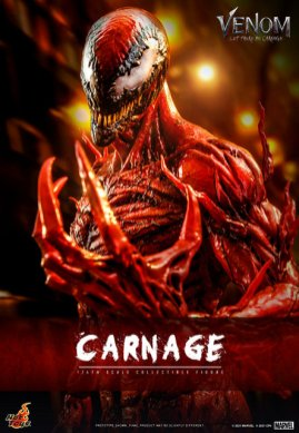 hot toys venom let there be carnage figure - claw hand