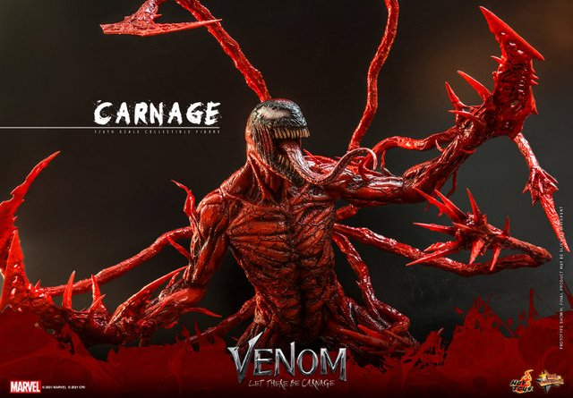 hot toys venom let there be carnage figure - main shot