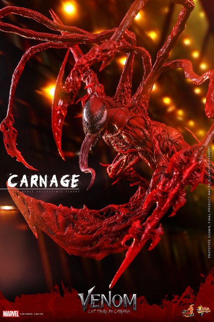 hot toys venom let there be carnage figure - tentacles flaring