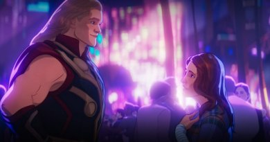 what if... thor were an only child review - thor meets jane