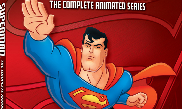 superman the animated series - blu ray cover