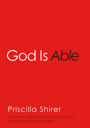 Confessions of a Book Addict:  God is Able (Giveaway)
