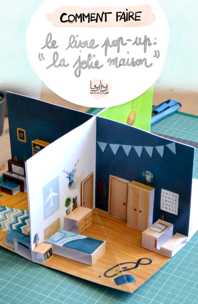 faire une jolie maison pop up