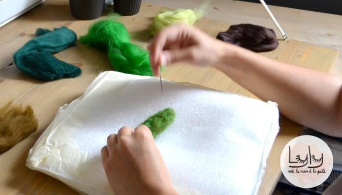 diy tuto porte epingles cactus en laine feutree a l aiguille
