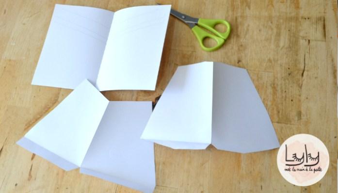 DIY tuto pour occuper les enfants pendant les coronavacances : fabriquer un livret pop-up