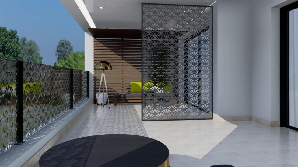 Claustra balcon terrasse