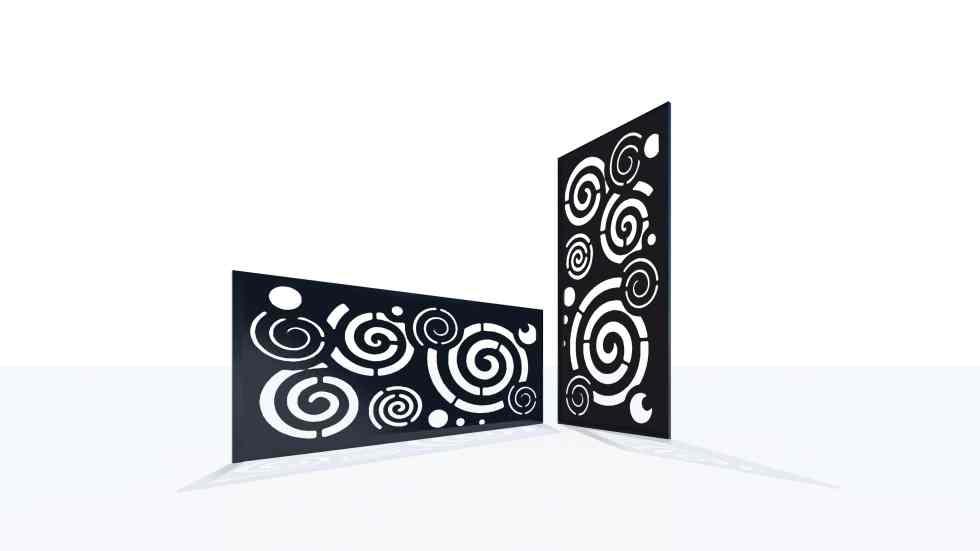 Claustra design motif 35 illusion optique