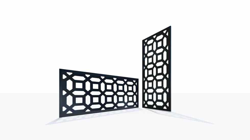 Claustra design motif 44 géométrique
