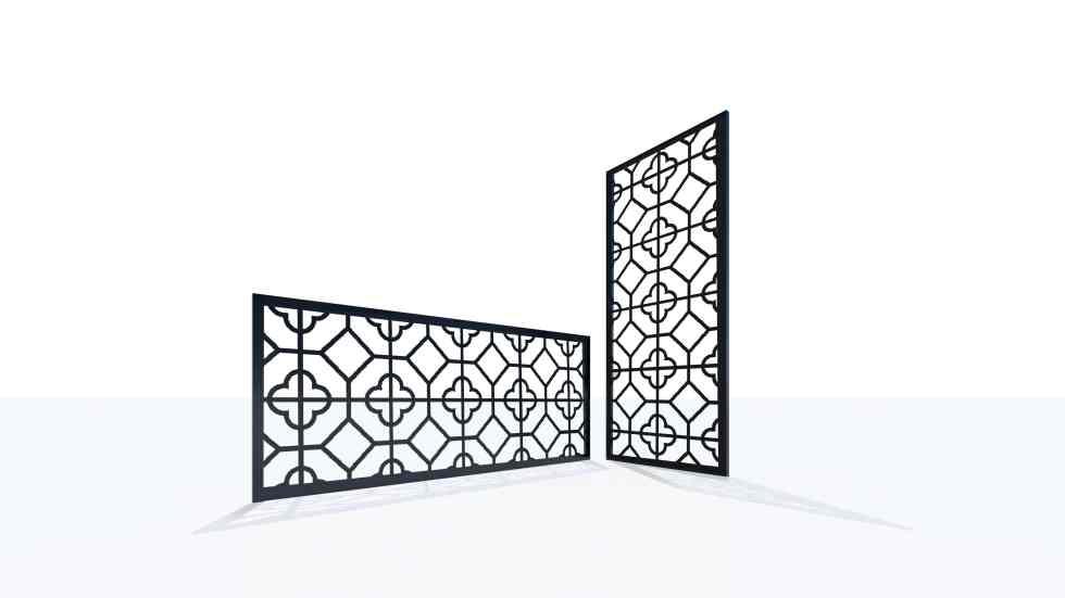 Claustra design motif 59 géométrique oriental