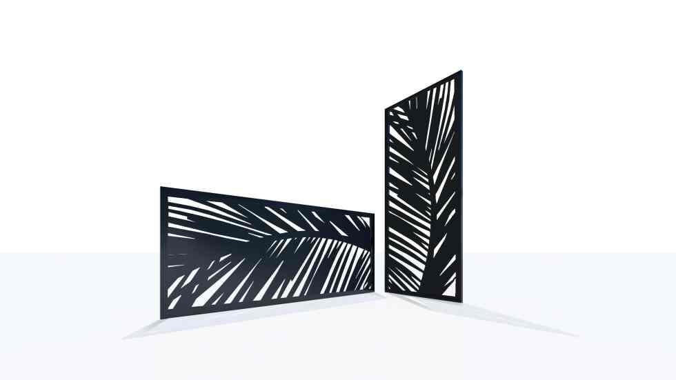 Claustra design motif 60 nature feuille
