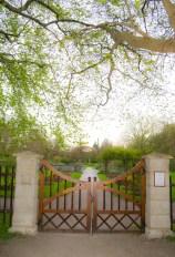 Visby gate to garden