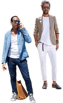 イタリアンファッションのメンズコーデ1