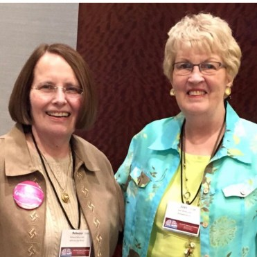 Becky & Joan White, Founder of Lighthouse Lymphedema Network