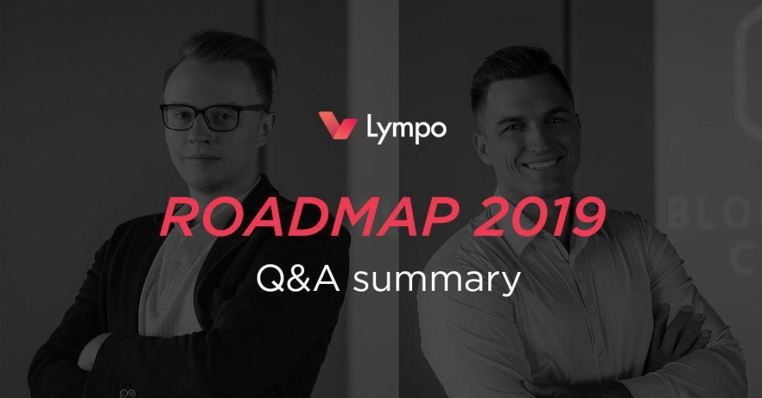 lympo roadmap 2019