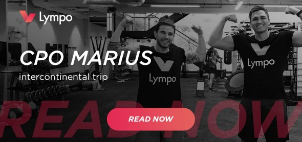 Lympo CPO Marius business trip